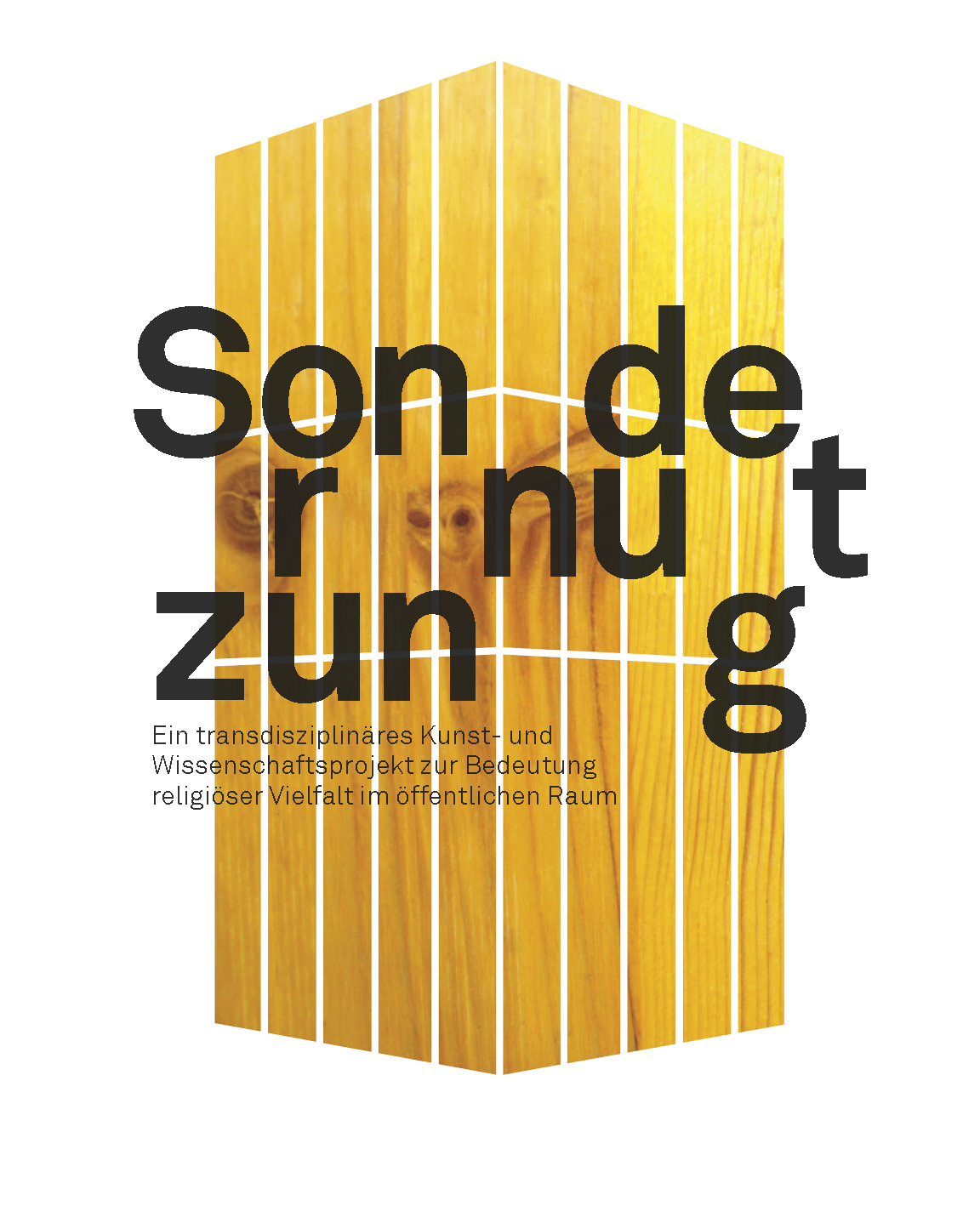 SONDERNUTZUNG – A Transdisciplinary Project Combining Art and Science to Evaluate the Meanings of Religious Diversity in Public Space